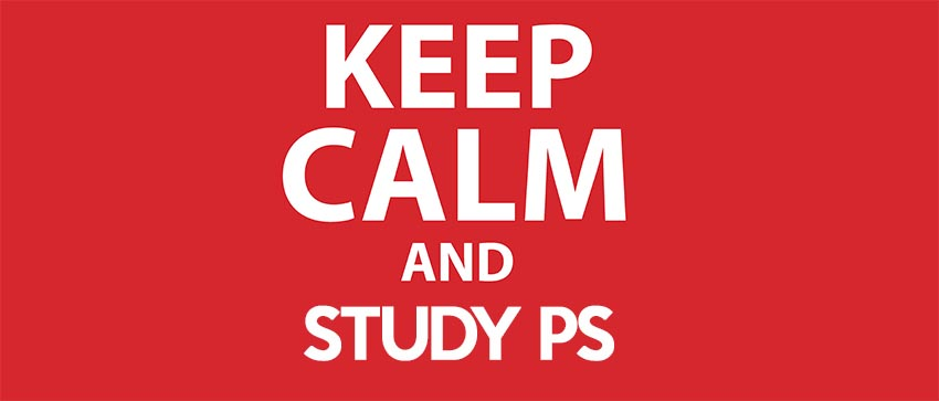 Keep Calm and Study PS